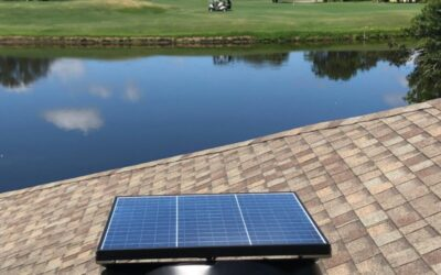 Solar Powered Attic Fans Keep Military Veterans Cool at Florida Indian River Colony Club