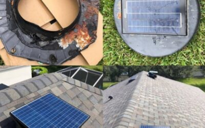 iSolar 40W-INT Attic Fan Withstands Corrosion and Salt in Florida